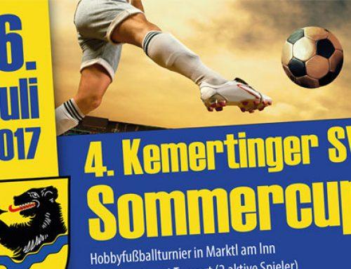 Metal Check unterstützt den 4. Kemertinger SV Sommercup 2017
