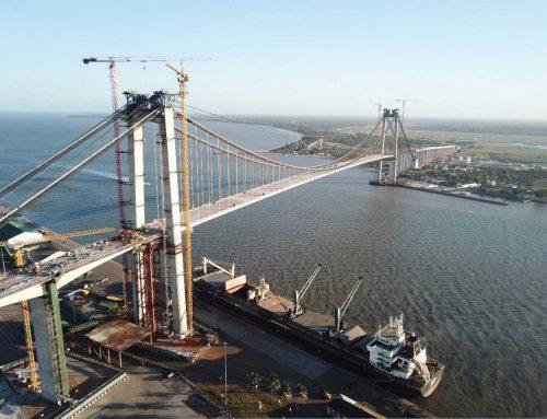 Schweiß- und Prüfaufsicht an der längsten Hängebrücke Afrikas