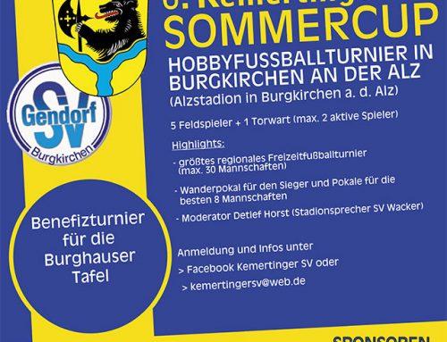 Metal Check unterstützt als Hauptsponsor den 6. Kemertinger Sommercup 2019